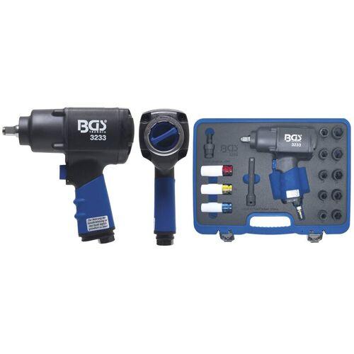 BGS Druckluft-Schlagschrauber-Satz   12,5 mm (1/2)   1355 Nm   16-tlg.