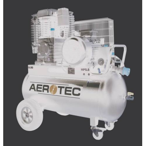Aerotec Industrie-Kompressor 820-90 PRO - 400 Volt