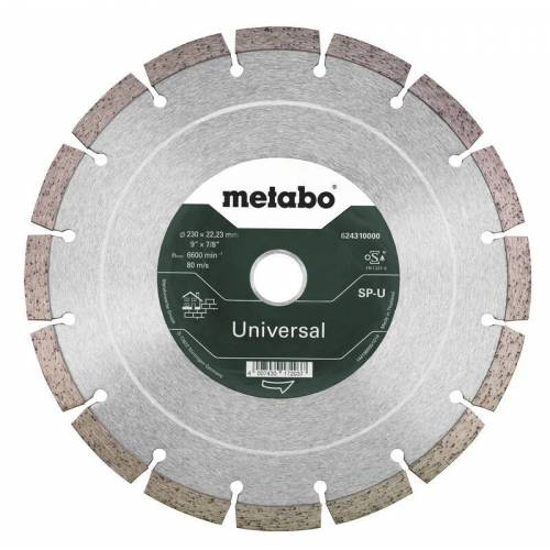Metabo Diamanttrennscheibe-SP-U 230 x 22,23 mm