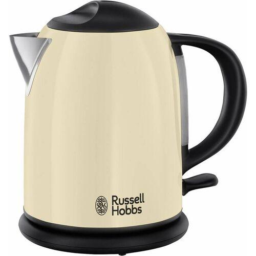 Russell Hobbs Wasserkocher Creme, 1 Liter, 2200 Watt
