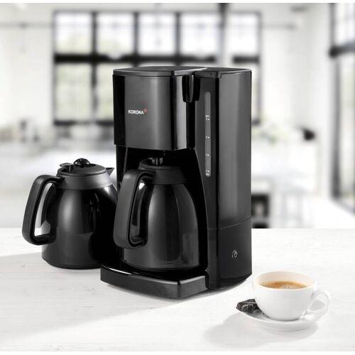 Korona Kaffeemaschine mit 2 Thermokannen