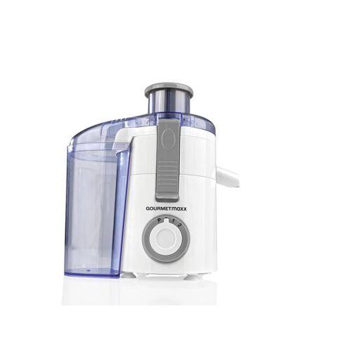 Gourmet Maxx Elektrischer Entsafter, 250 Watt, Weiß/ Grau