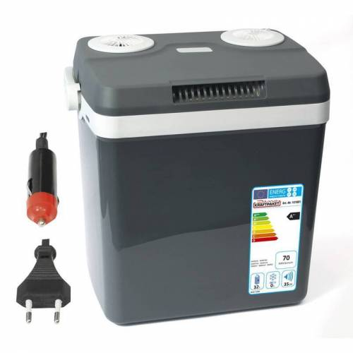 Dino Thermoelektrische Kühlbox KRAFTPAKET 32 Liter - 12V / 230 Volt