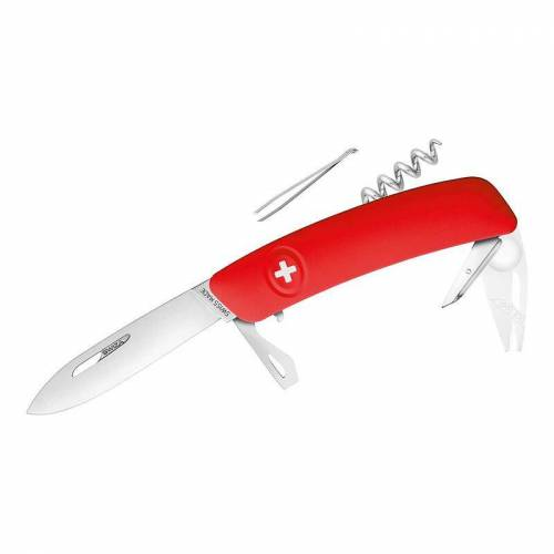 Swiza Taschenmesser rot