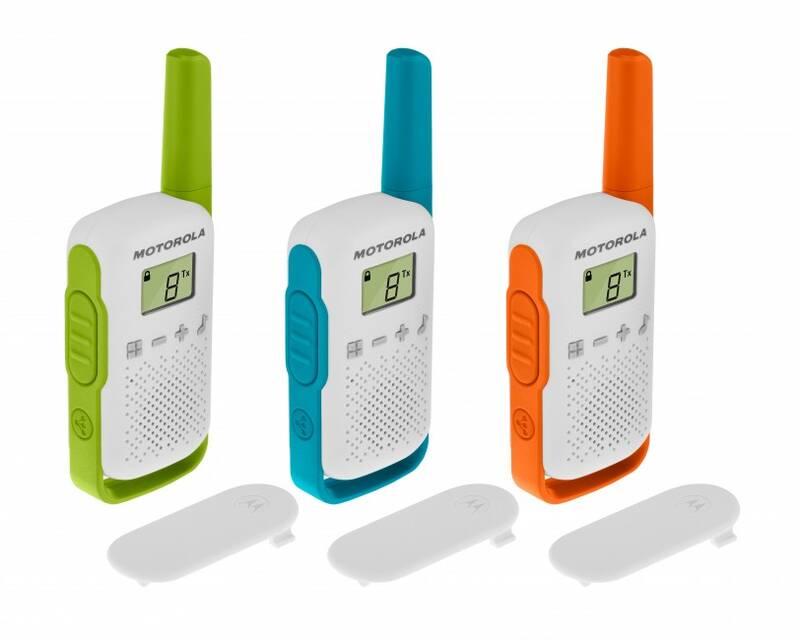 Motorola PMR446 Funkgerät Talkabout T42 Triple, Walki Talki