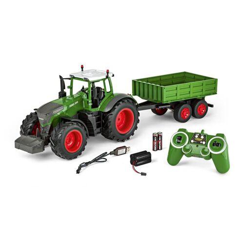 Carson RC Traktor mit Anhänger 1:16 100% RTR