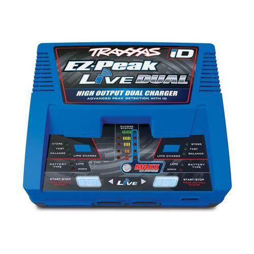 Traxxas DUAL EZ-Peak Live 200 Watt NiMH/Lipo bis 4S, Schnell-Lader TRAXXAS EU-Version (mit iD Akku-Erkennung)