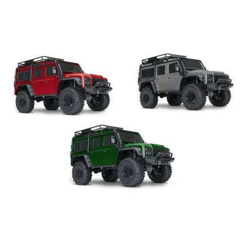 Traxxas TRX-4  Land Rover Crawler 1/10 rot Crawler 2.4GHz (Link-fähig)  ohne Akku, ohne Lader