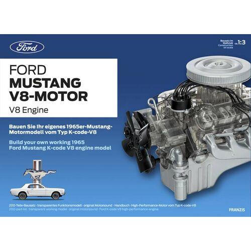 Franzis-Verlag Bausatz Ford Mustang V8-Motor