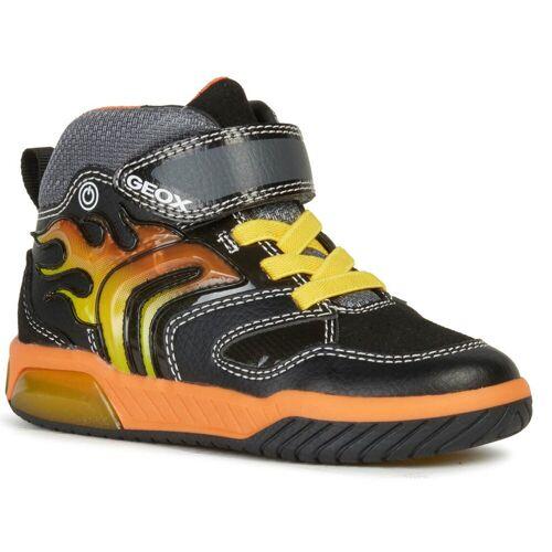 Geox Inek J949CC-0BU11/C0038 Schwarz/Orange Kinder