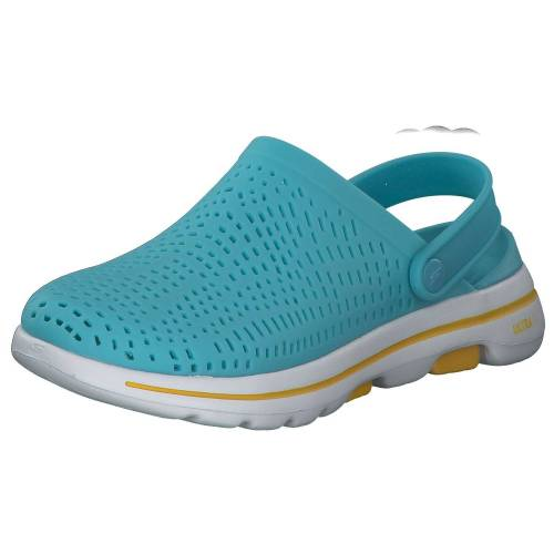 Skechers Go Walk Damen Clogs 5 111103 BLU Blau Damen