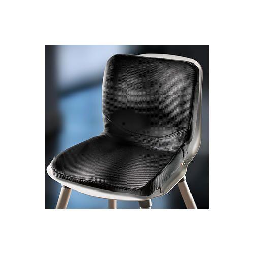 P!NTO ergonomische Sitzkissen, faltbar, schwarz