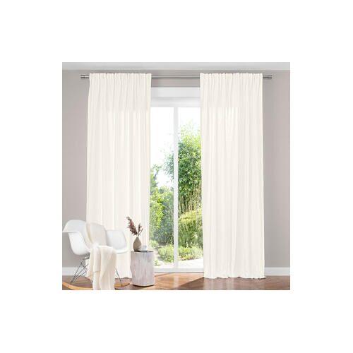 Vorhang Bioaktiv - 1 Stück, 142 x 245 cm - Weiß