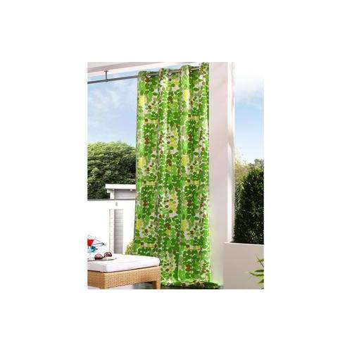 Vorhang Greenwich - 1 Stück, 138 x 260 cm - Grün