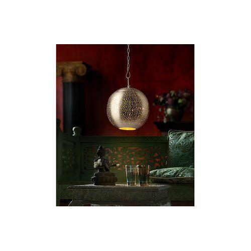Orientalische Kugel-Leuchte, 30 x 30 x 35 cm