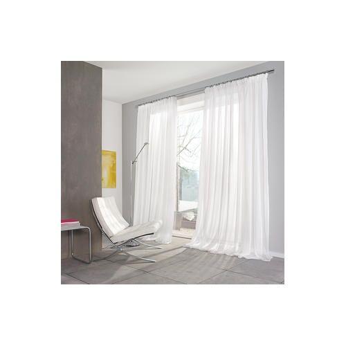 Store/Gardine Klassik, 290 x 280 cm - Weiß - 2er-Set