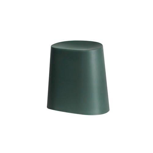 Leitmotiv, Relish Hocker, stapelbar, 34 x 43 x 45 cm, petrol