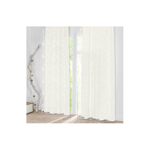 Vorhang Amari - 1 Stück, 142 x 290 cm - Creme