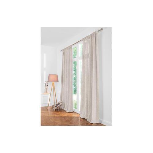 Vorhang Two-Tone - 1 Stück, 132 x 260 cm - Beige/Linen