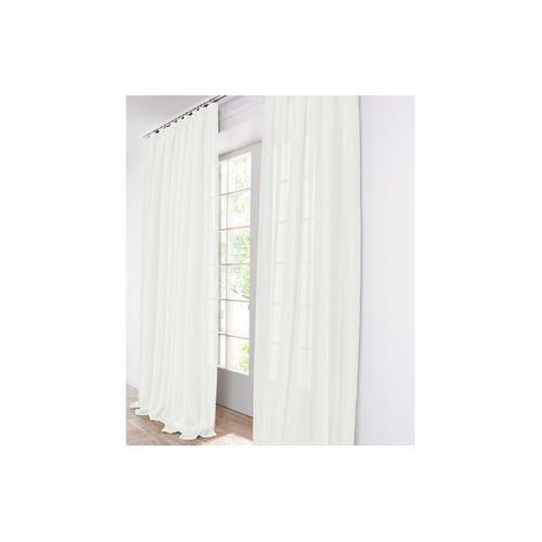 Vorhang Clio - 1 Stück, 154 x 245 cm - Creme