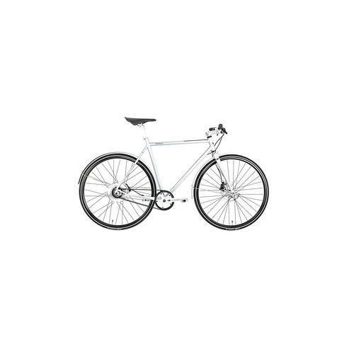 Cooper Bikes Cooper City-E-Bike E Disc, S, weiß