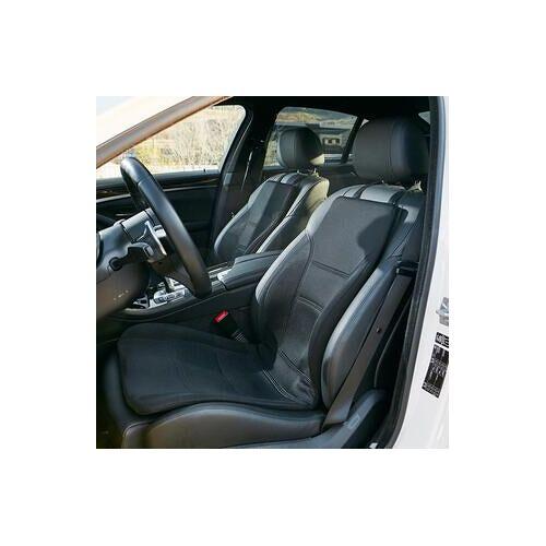 P!NTO Driver, ergonomische Auto-Sitzkissen, faltbar, schwarz