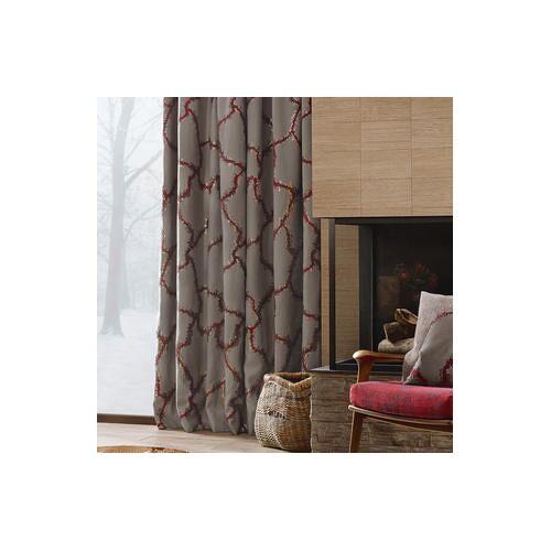 Vorhang Bordino - 1 Stück, 122 x 245 cm - Taupe