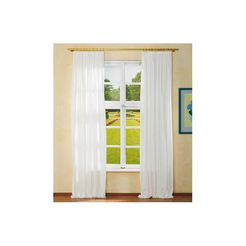 Vorhang Pura - 1 Stück, 154 x 280 cm - Creme