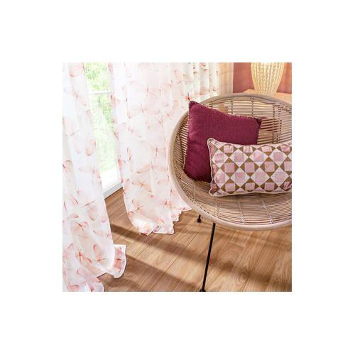 Store/Gardine Alva - 1 Stück, 142 x 245 cm - Rosé