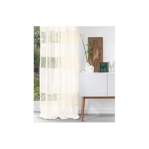 Vorhang Glory - 1 Stück, 150 x 245 cm - Creme