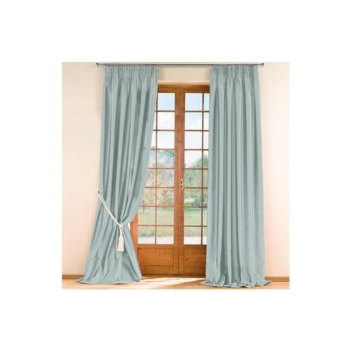 Vorhang Sandria, 142 x 280 cm - Braun - 2er-Set