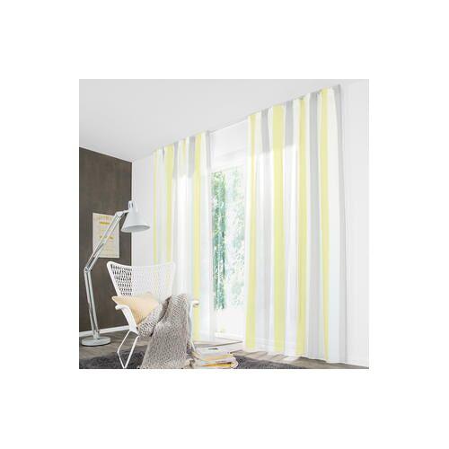 Store/Gardine Pastel Stripe - 1 Stück, 188 x 245 cm - Beige