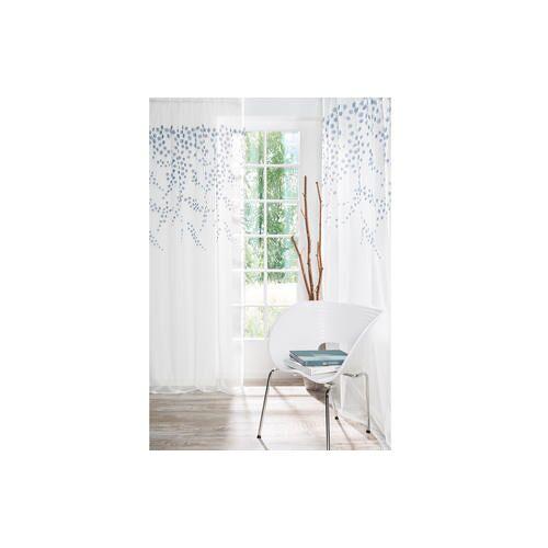 Store/Gardine Fiore - 1 Stück, 122 x 245 cm - Weiß