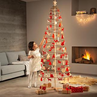 Spira, Weihnachtsbaum Slim, Spiralbaum, Holz, 190 x 72 cm