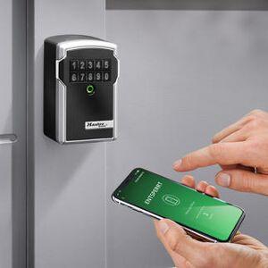 Master Lock Select Access, Bluetooth Schlüsselkasten, Schlüsselsafe, wetterfest, per App steuerbar