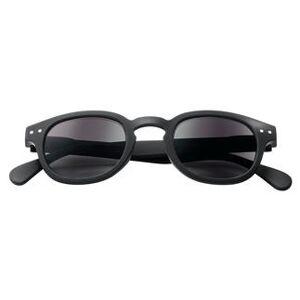 Izipizi Sun #C Lese-Sonnenbrille, black soft, +3 dpt
