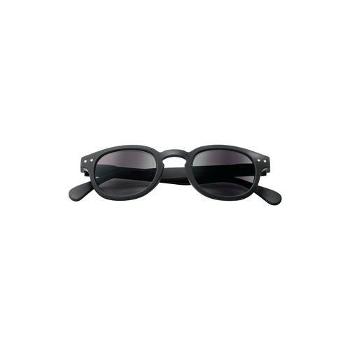Izipizi Sun #C Lese-Sonnenbrille, black soft, +1 dpt