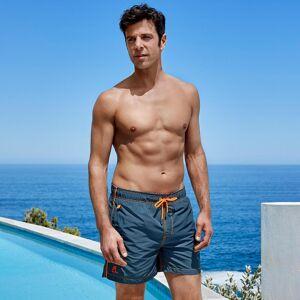 Ramatuelle Beachwear Ramatuelle Badeshorts Lotoseffekt, 52 - Blau