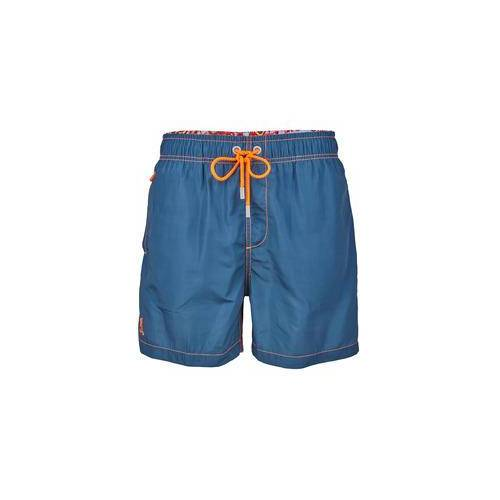 Ramatuelle Beachwear Ramatuelle Badeshorts Lotoseffekt, 50 - Blau