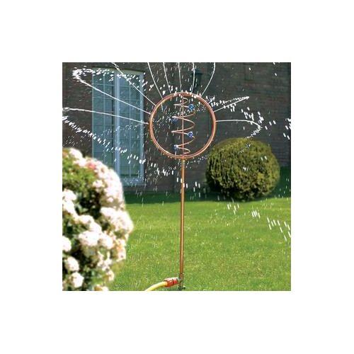 Blue Swirl Wasserspiel, Kunstobjekt, Rasen Bewässerung
