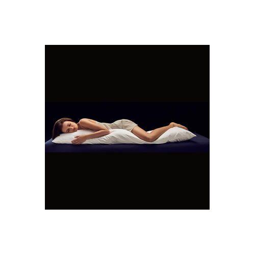 Hefel Seitenschläferkissen Zirbe, Misst 35 x 160 cm
