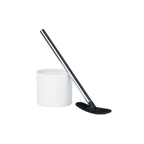 Rode Design WC-Reiniger Daily, Silikon und Edelstahl, weiß