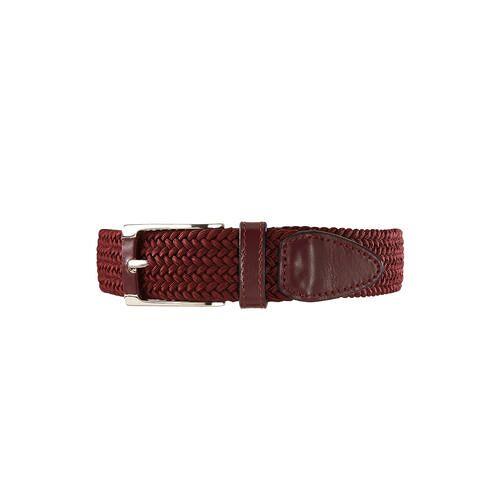 Belts Elastischer Gürtel, Damen - Bordeaux