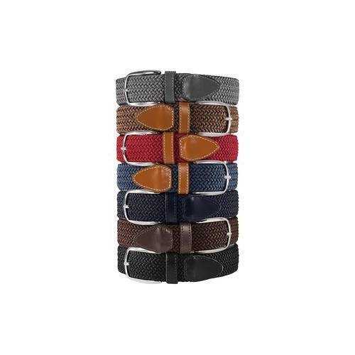 Belts Elastischer Gürtel, Herren - Grau