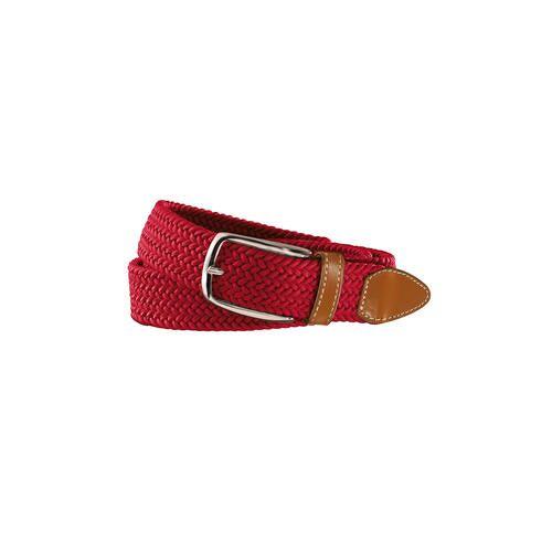 Belts Elastischer Gürtel, Herren - Rot