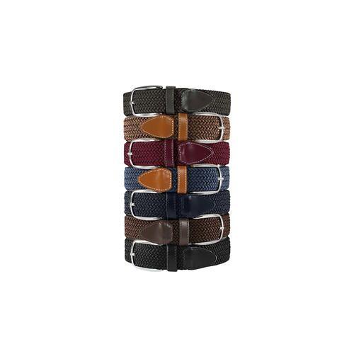Belts Elastischer Gürtel, Herren - Khaki