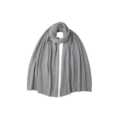 Kaschmir-Schal, -Mütze oder -Handschuhe, Schal - Grau