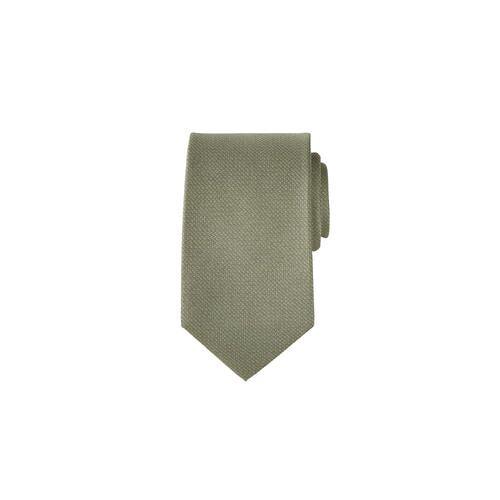 Pellens & Loick 3D-Print-Einstecktuch oder Krawatte, Krawatte - Salbeigrün