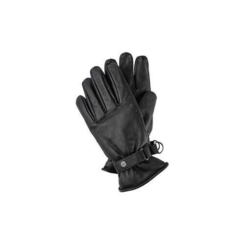 Pearlwood Vintage-Handschuh, 9,5 - Schwarz