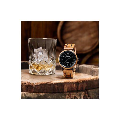 Waidzeit Whisky Black Holzig Herrenuhr